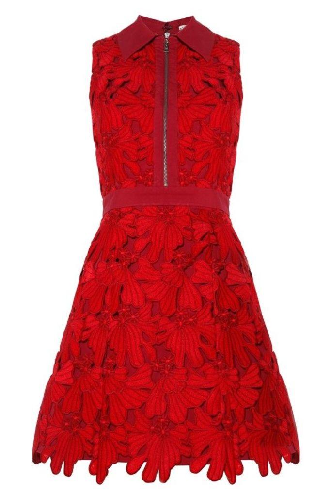 Ellis Zip Front Dress