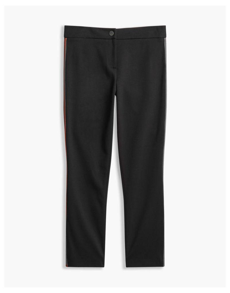 Belstaff Rosalind Cropped Trousers Black