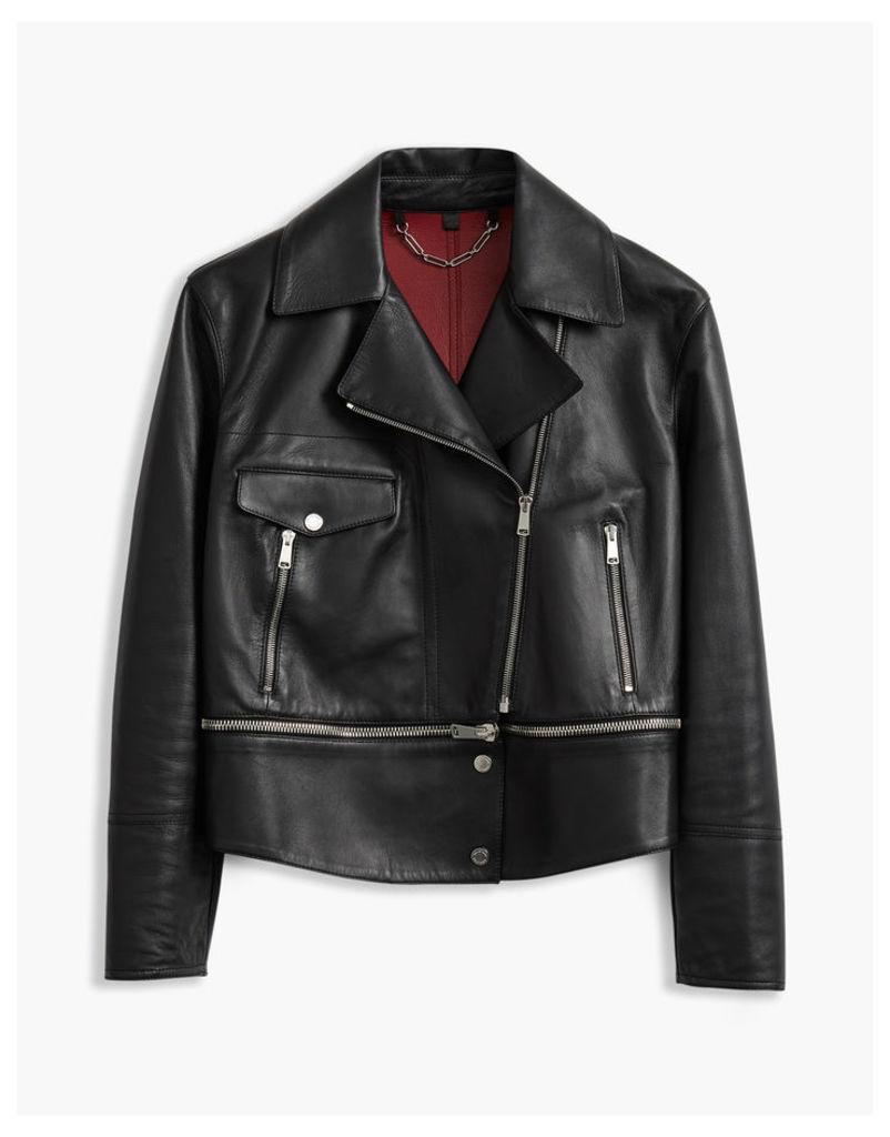 Belstaff Avenhan Blouson Jacket Black/Red
