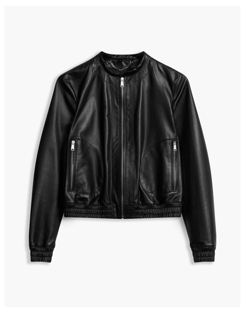 Belstaff Havana Bomber Jacket Black