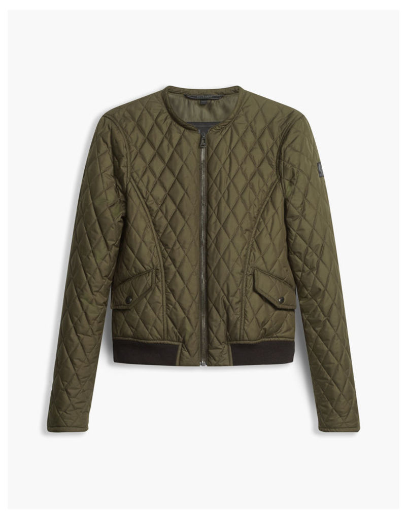 Belstaff Cassell Quilted Jacket Faded Olive