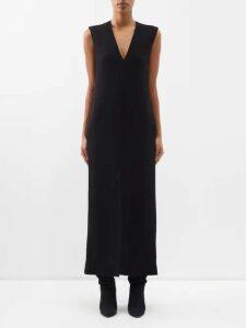 Valentino - Semi Sheer Silk Chiffon Blouse - Womens - Nude