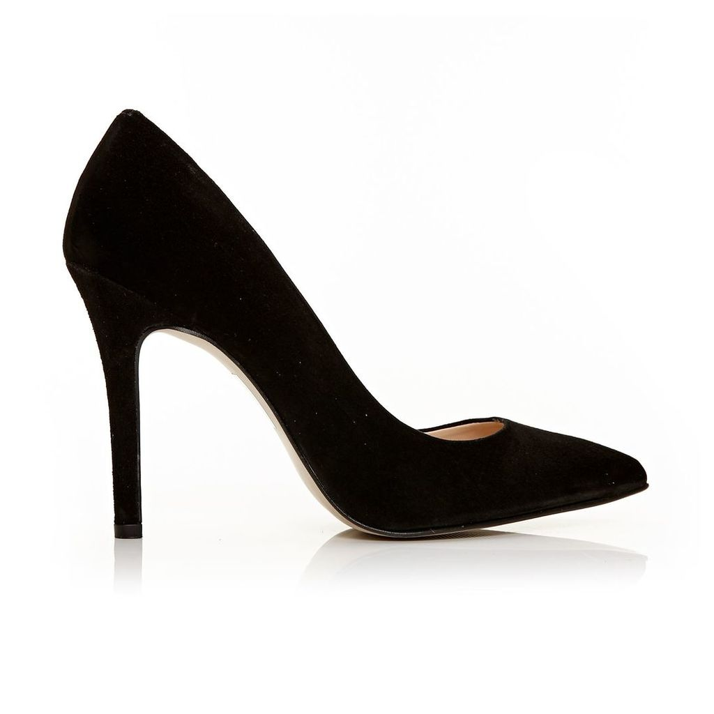 Moda in Pelle Comares Black Very High Smart Shoes