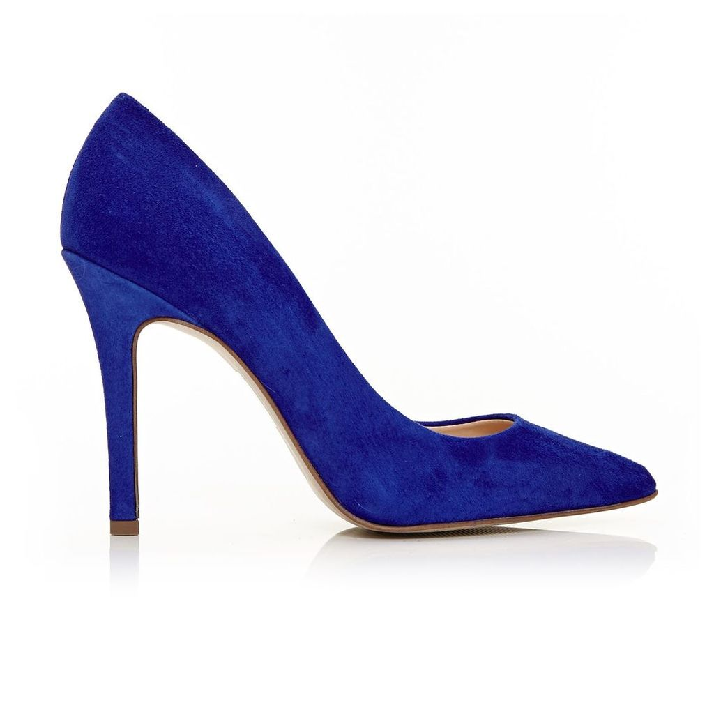Moda in Pelle Comares Cobalt Blue Very High Smart Shoes