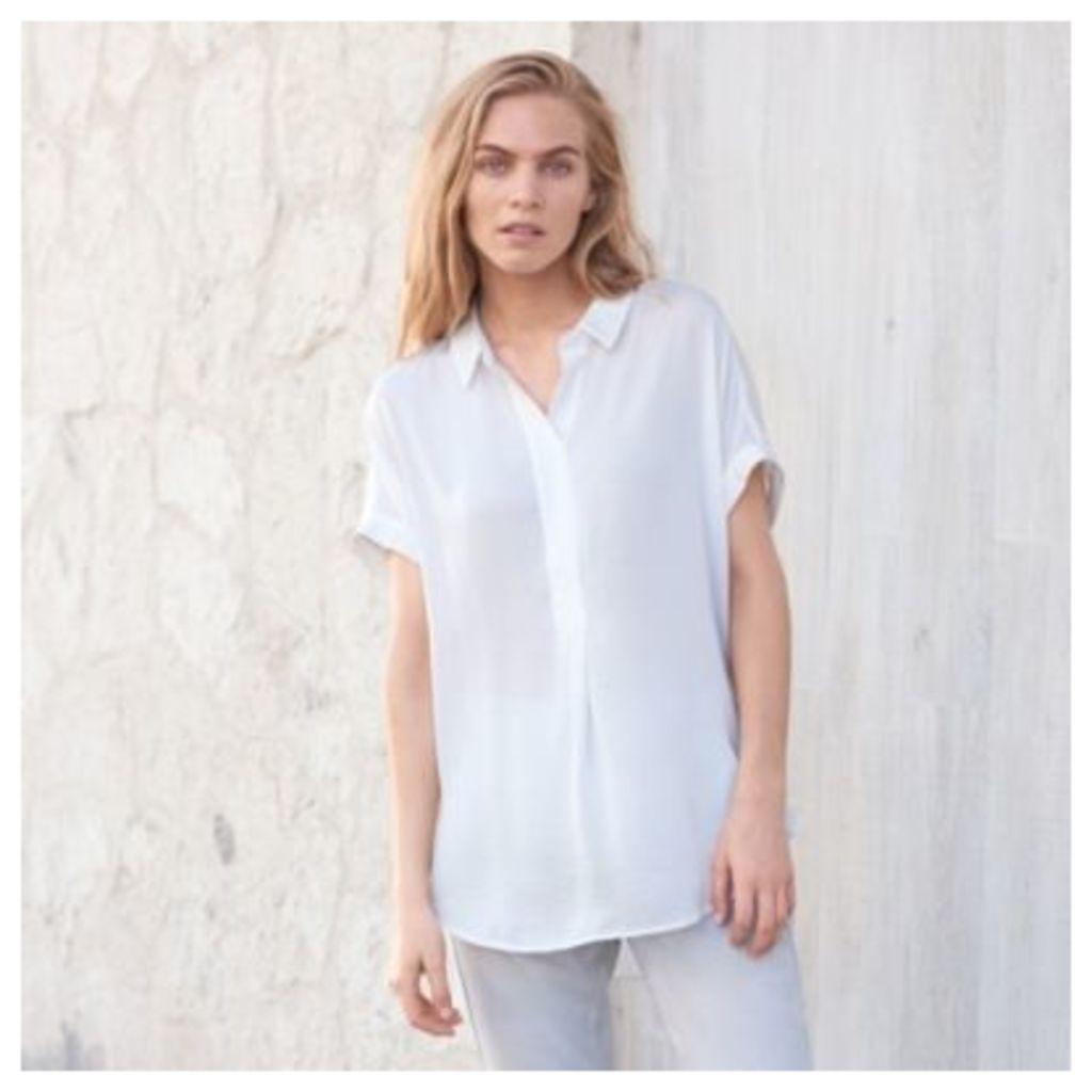 Satin Washed Shirt