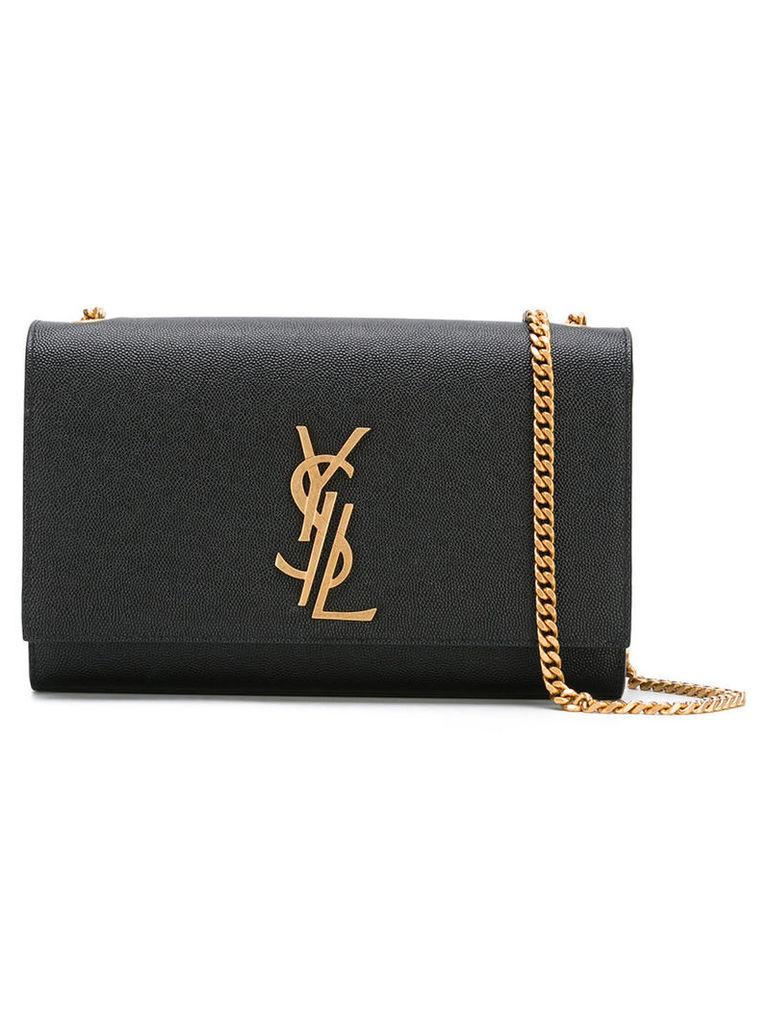 Saint Laurent - branded shoulder bag - women - Leather - One Size, Women's, Black