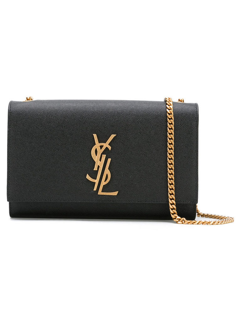 Saint Laurent - branded shoulder bag - women - Leather - One Size, Women's, Black
