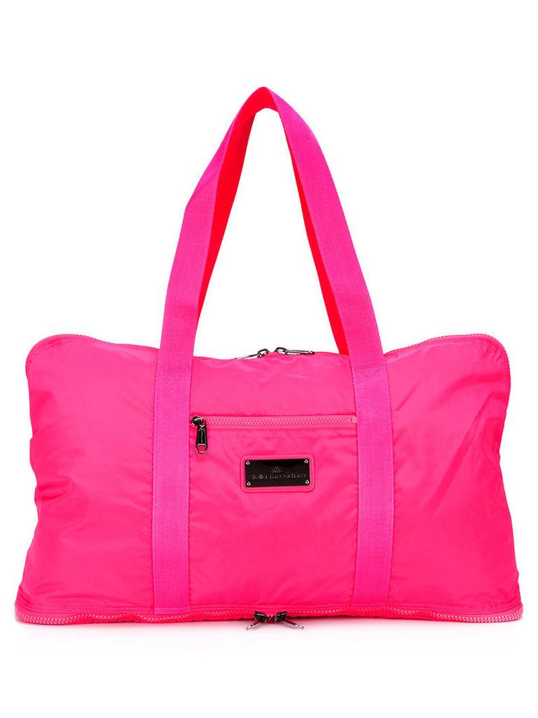 Adidas By Stella Mccartney - zip-up tote - women - Polyester - One Size, Women's, Pink/Purple