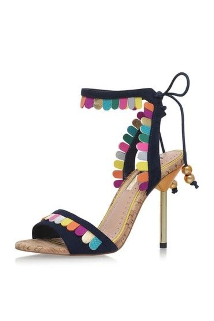 Womens **FREYA Multi High Heel Sandals by Miss KG - Multi, Multi