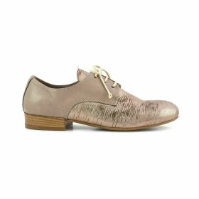 EB255 Dual Fabric Leather Brogues