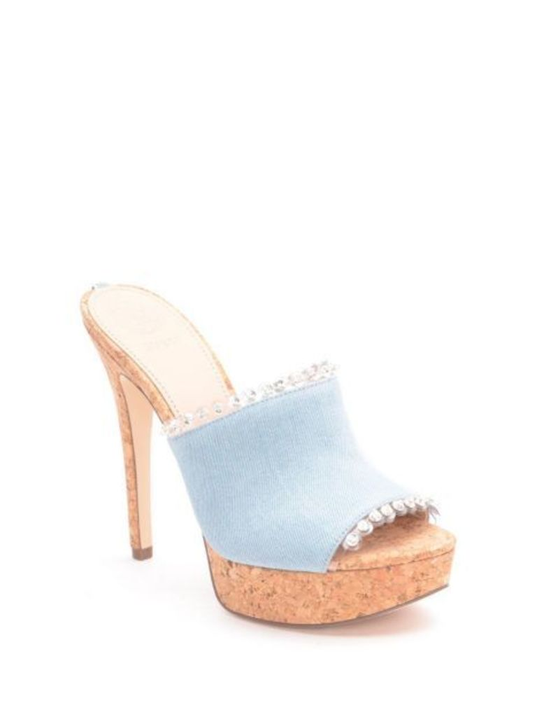 Guess Kacia Denim Sandal