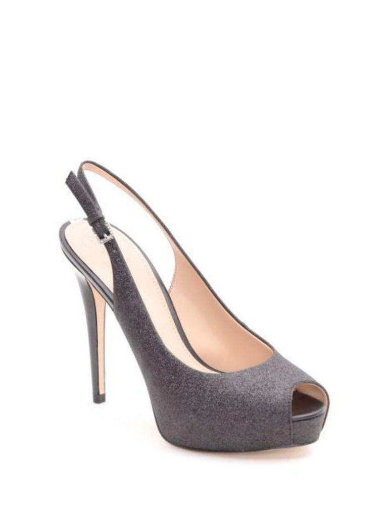 Guess Huele Glitter Court Shoe