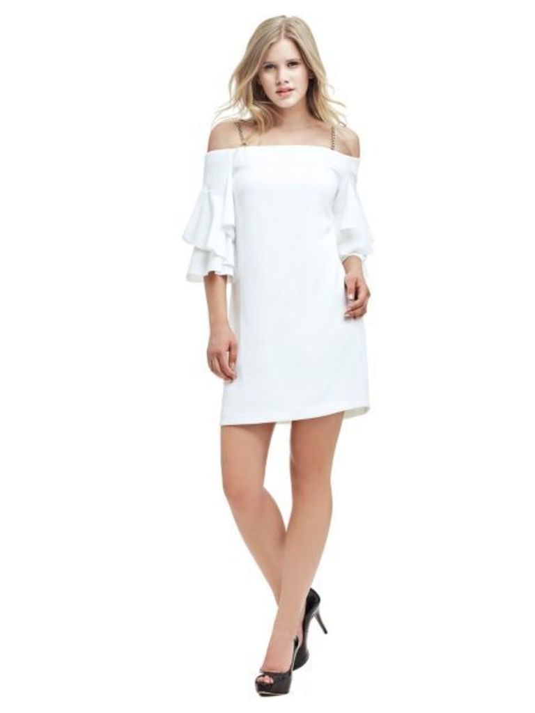 Marciano Guess Marciano Dress With Flounce Sleeves