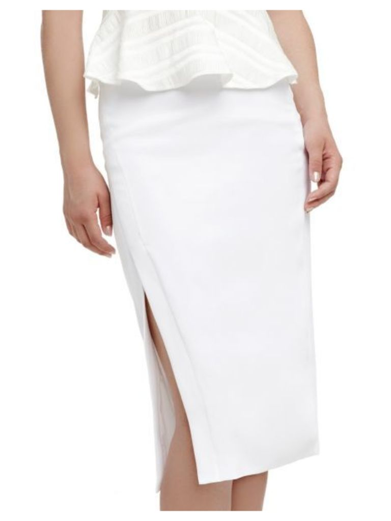 Guess Marciano Side Split Calf-Length Skirt