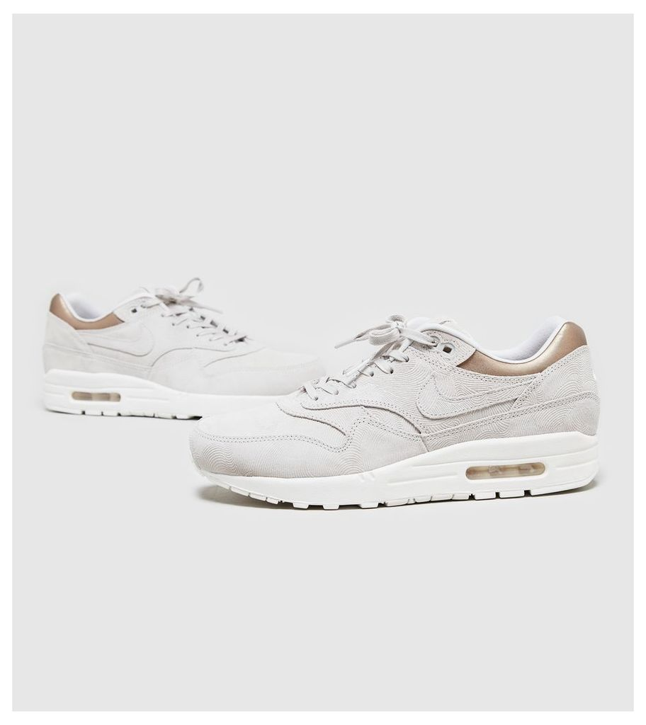 Nike Air Max 1 Women's, White/Gold