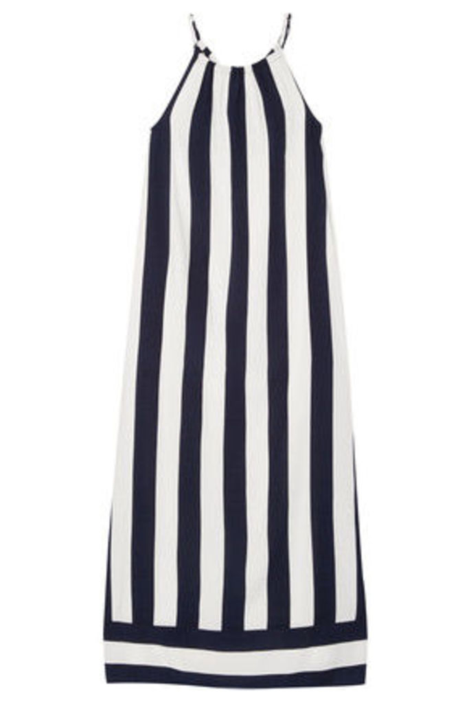 Splendid - Capistan Striped Voile Maxi Dress - Midnight blue