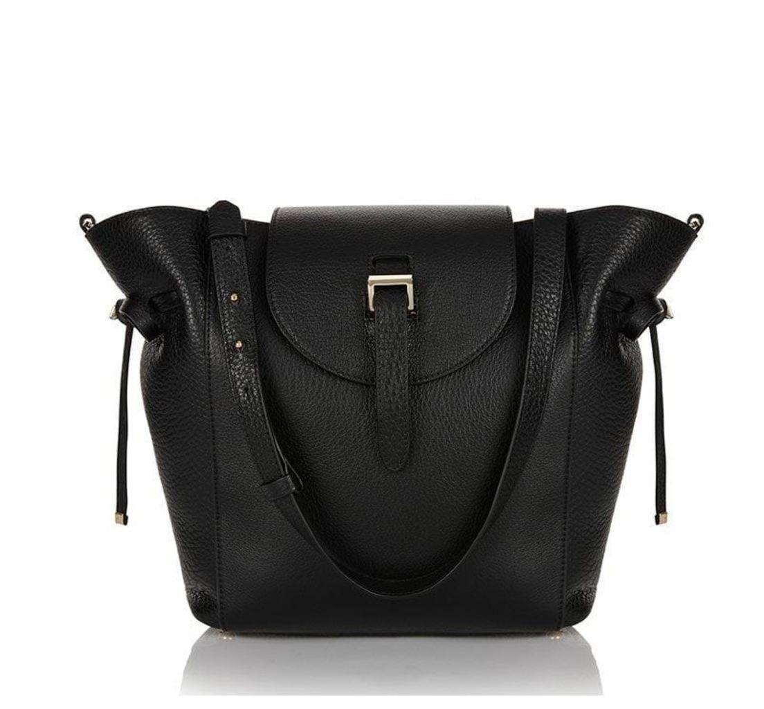 Fleming Medium Tote Bag Black