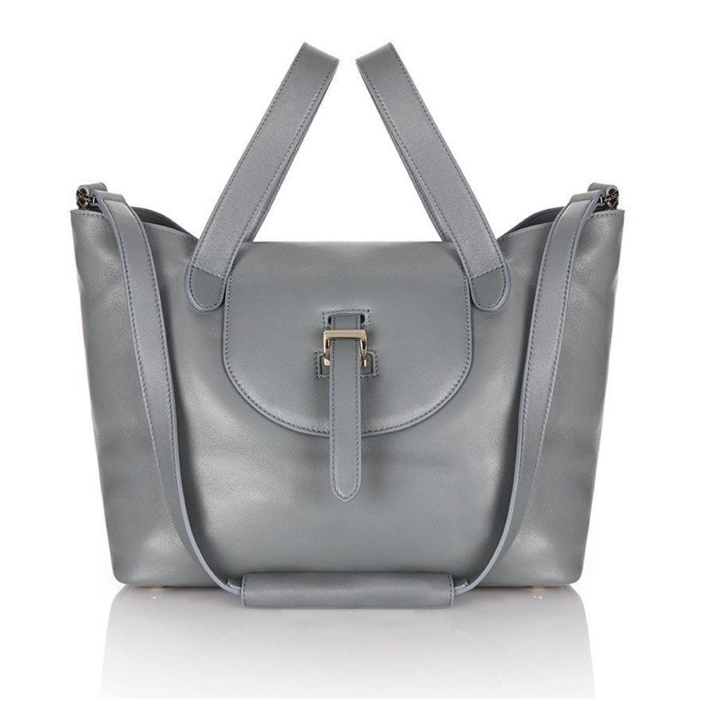 Thela Medium Tote Bag Blue Heron