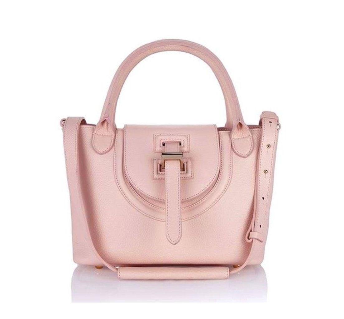 Halo Mini Bag in Dusty Pink
