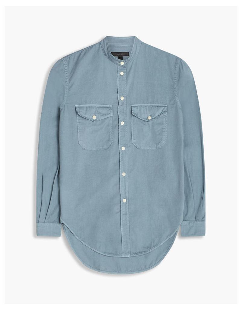 Belstaff Sandra Button Up Shirt Smokey Blue
