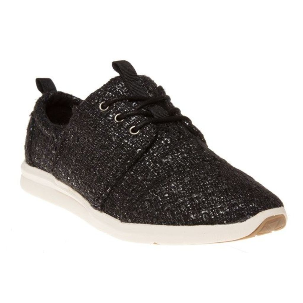 Toms Del Ray Sneaker Trainers, Black