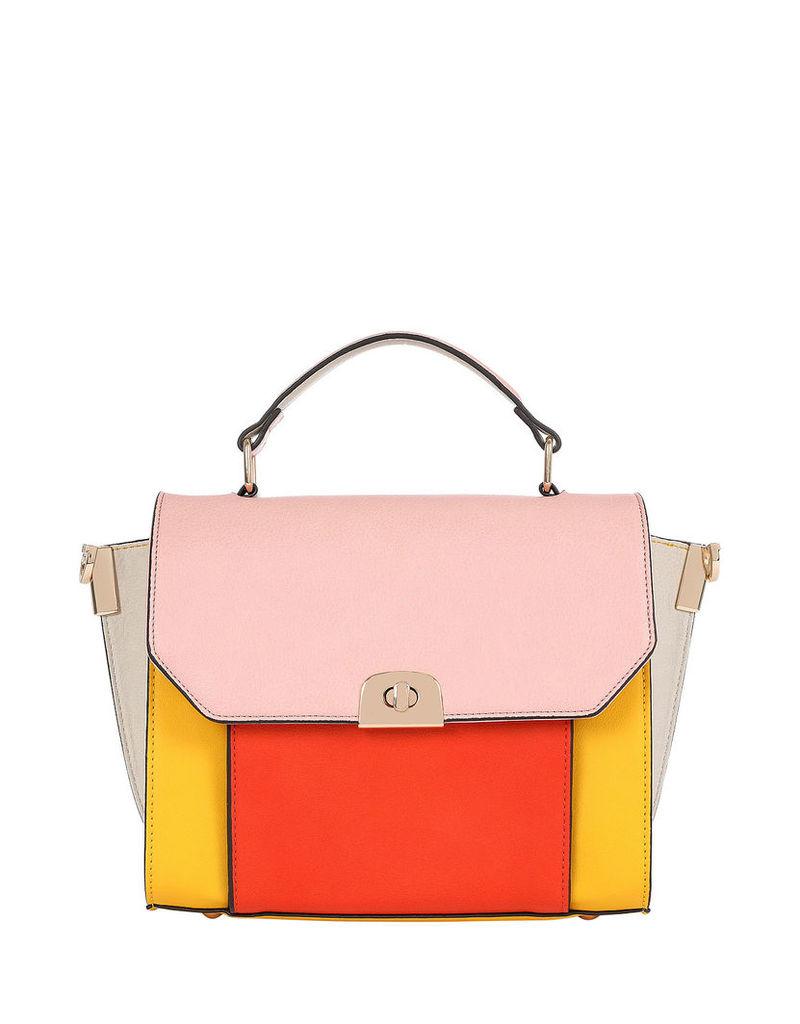Sunset Colourblock Winged Across Body Bag