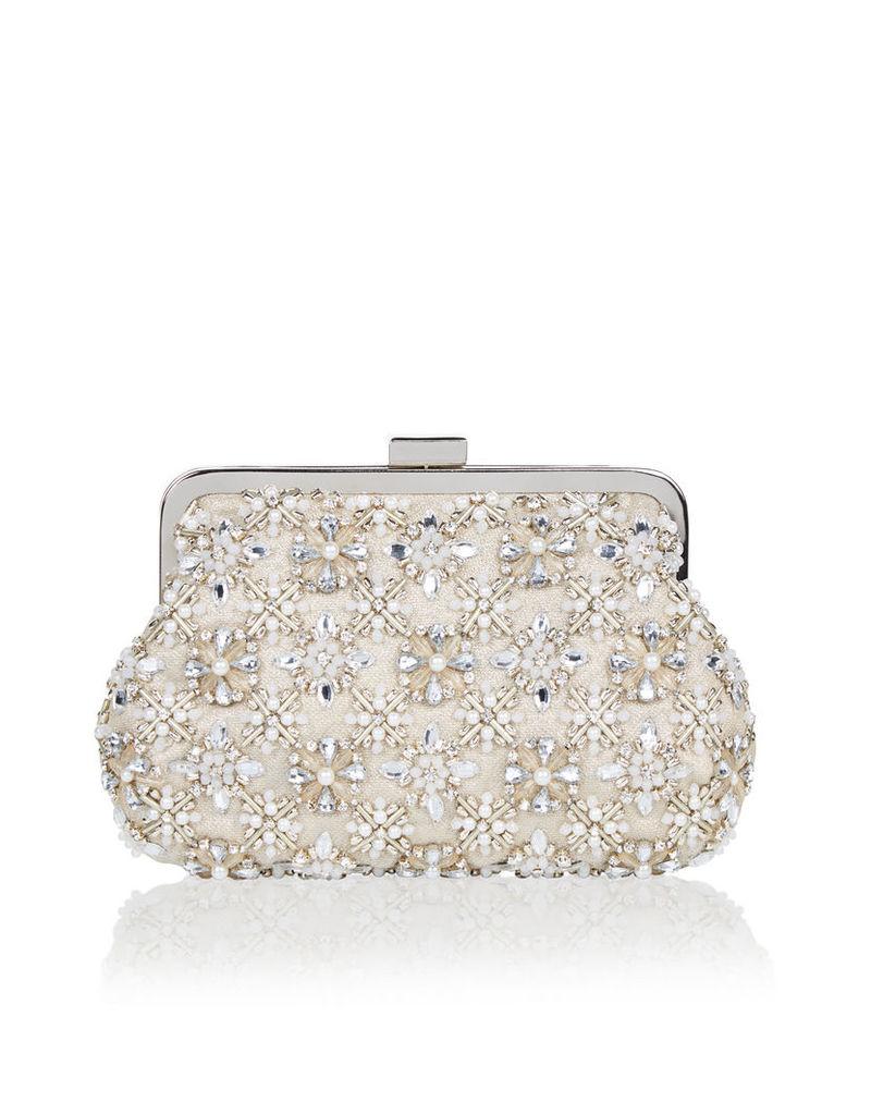 Sparkle Clipframe Pouch Bag