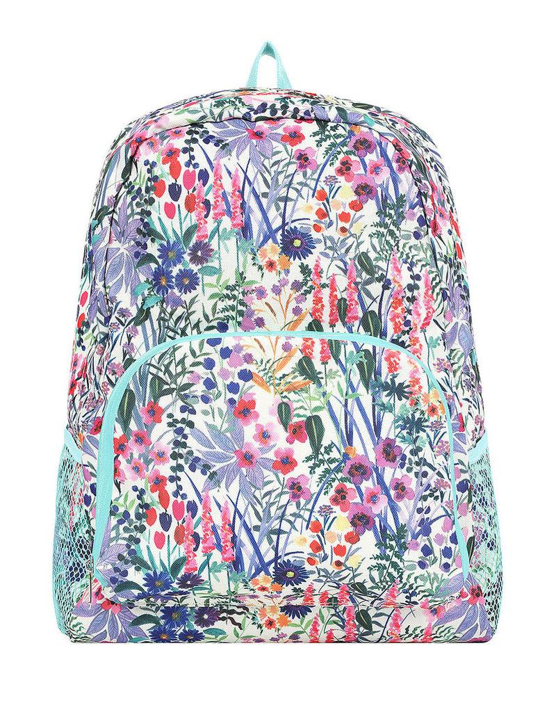 Floral Packable Backpack