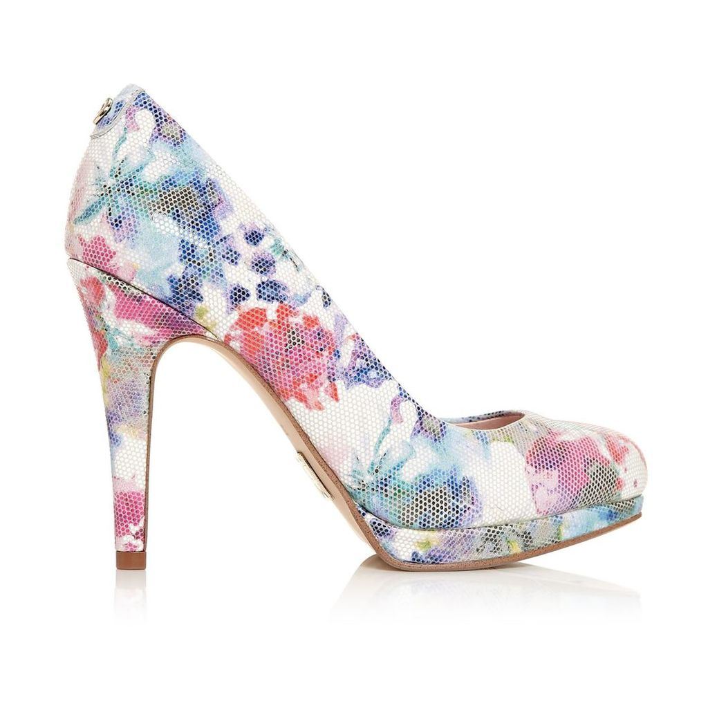 Moda in Pelle Civello Floral Very High Smart Shoes