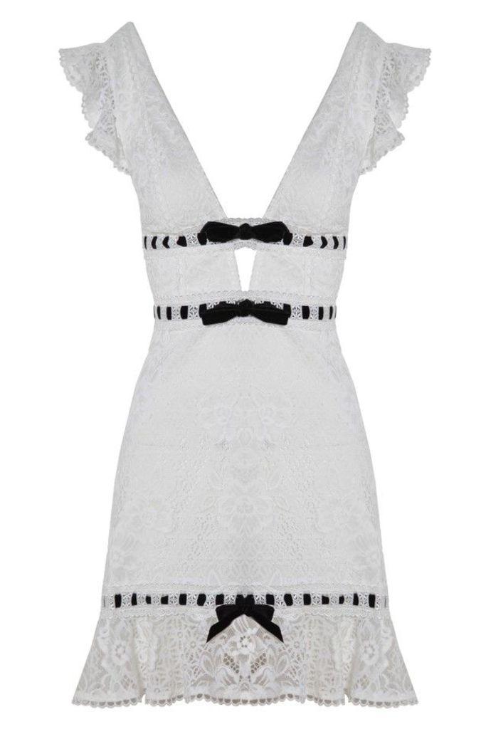 Bonita Lace Mini Dress