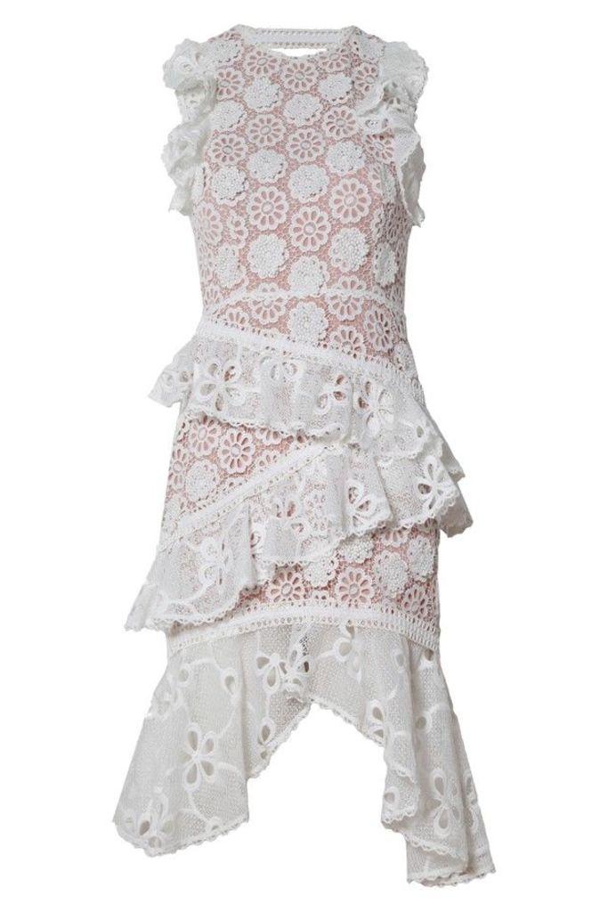 Arleigh Dress White