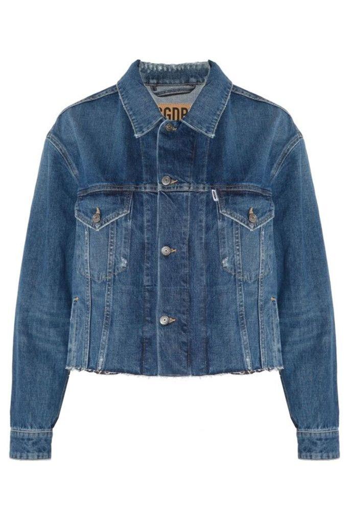 Denim Jacket Middle Blue Wash