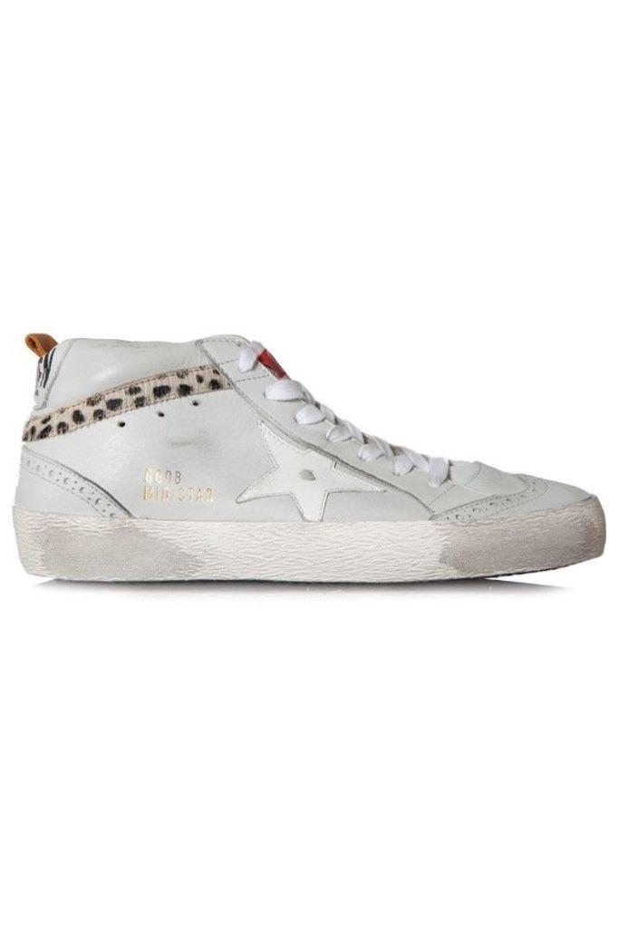 Sneakers Mid Star Ice Leather Leo Pony