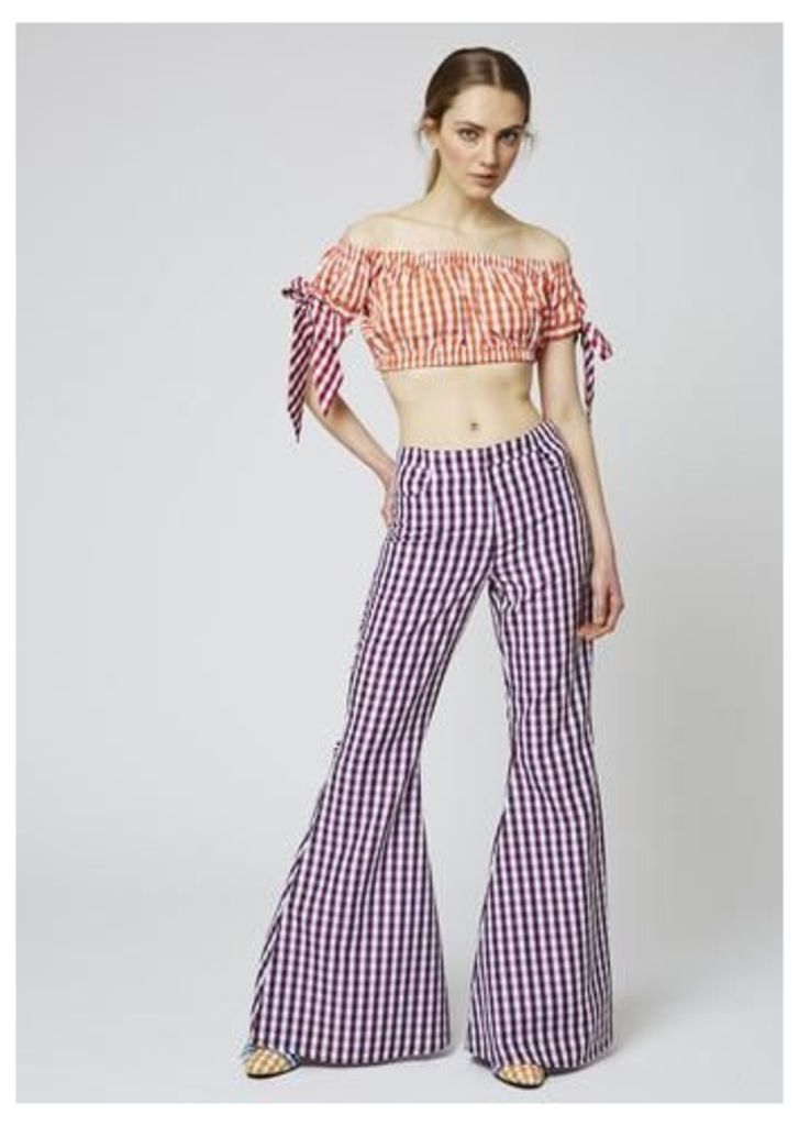 Gingham Flares