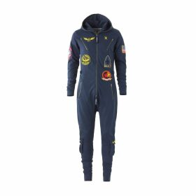 Aviator Onesie Midnight Blue