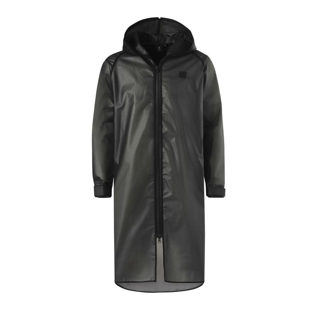 Influence Rain Jacket Transparent Black