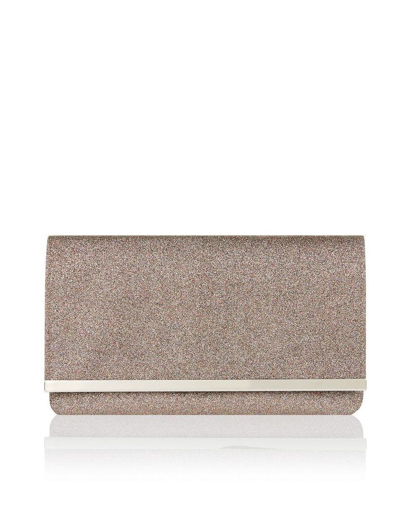 Paisley Glitter Clutch Bag