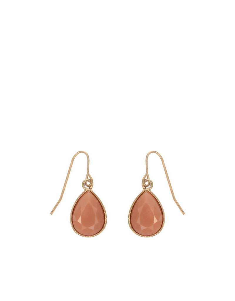 Teardrop Short Drop Earrings