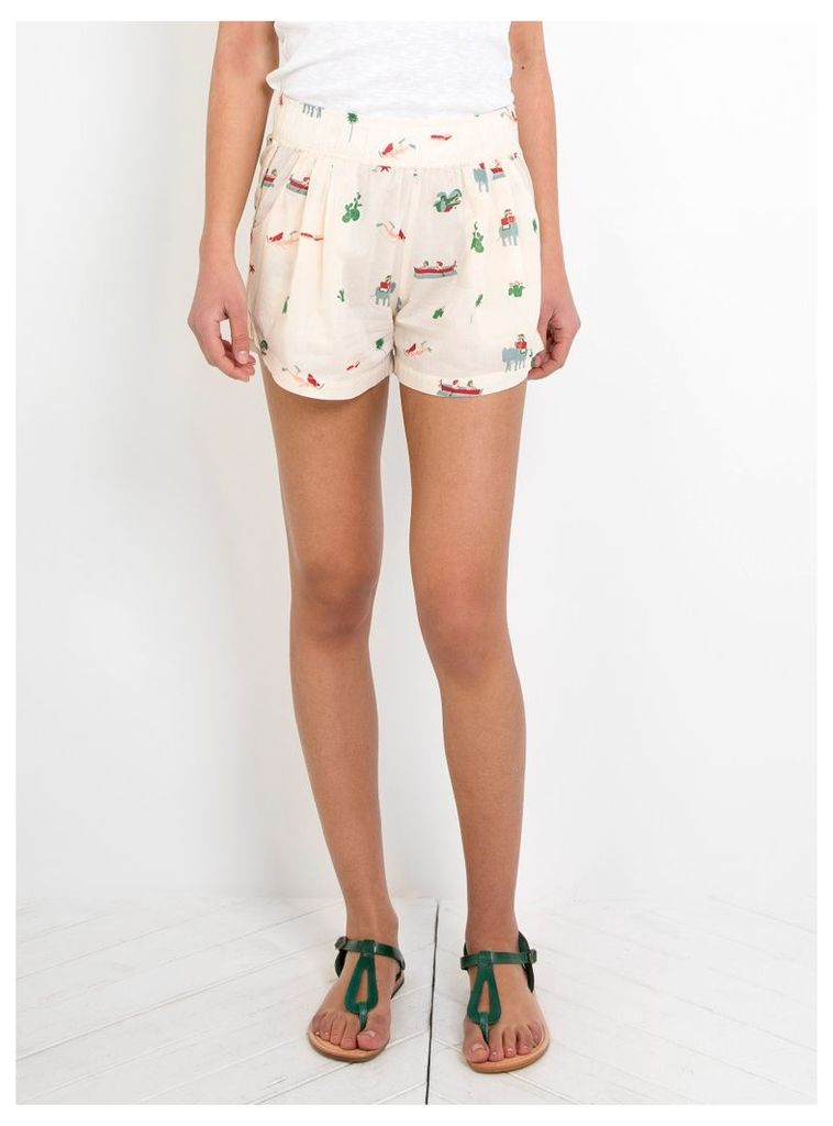 Exotic Cachete Shorts Ecru