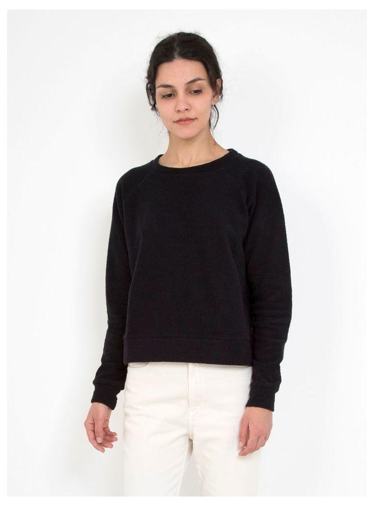 Morris Terry Fleece Sweatshirt Black