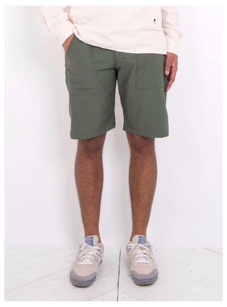 4 Pocket Short Olive