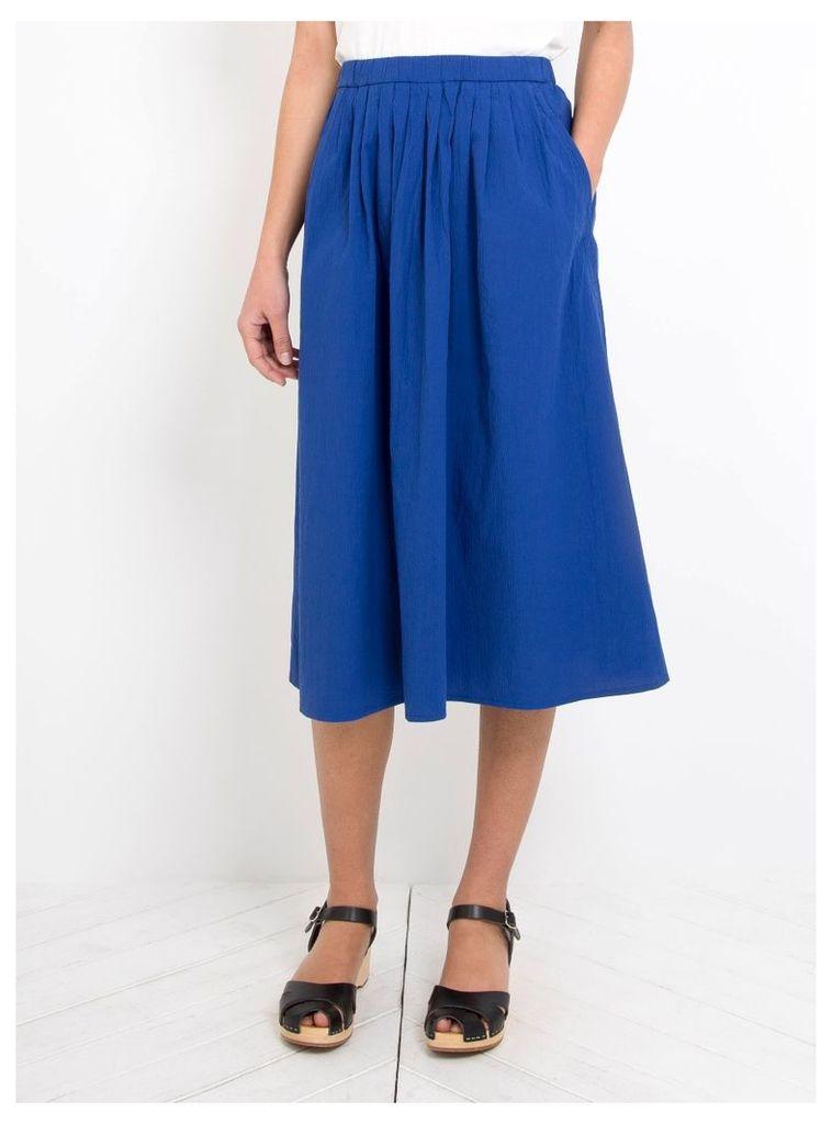 Pem Skirt Cobalt