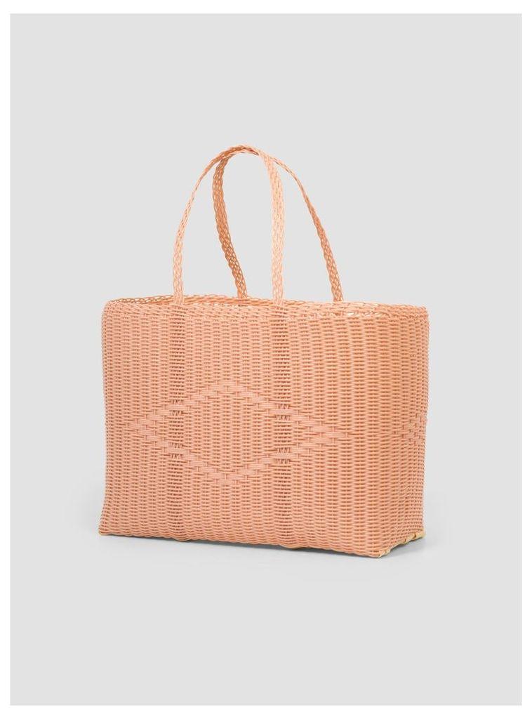 Large Tote Bag Peach
