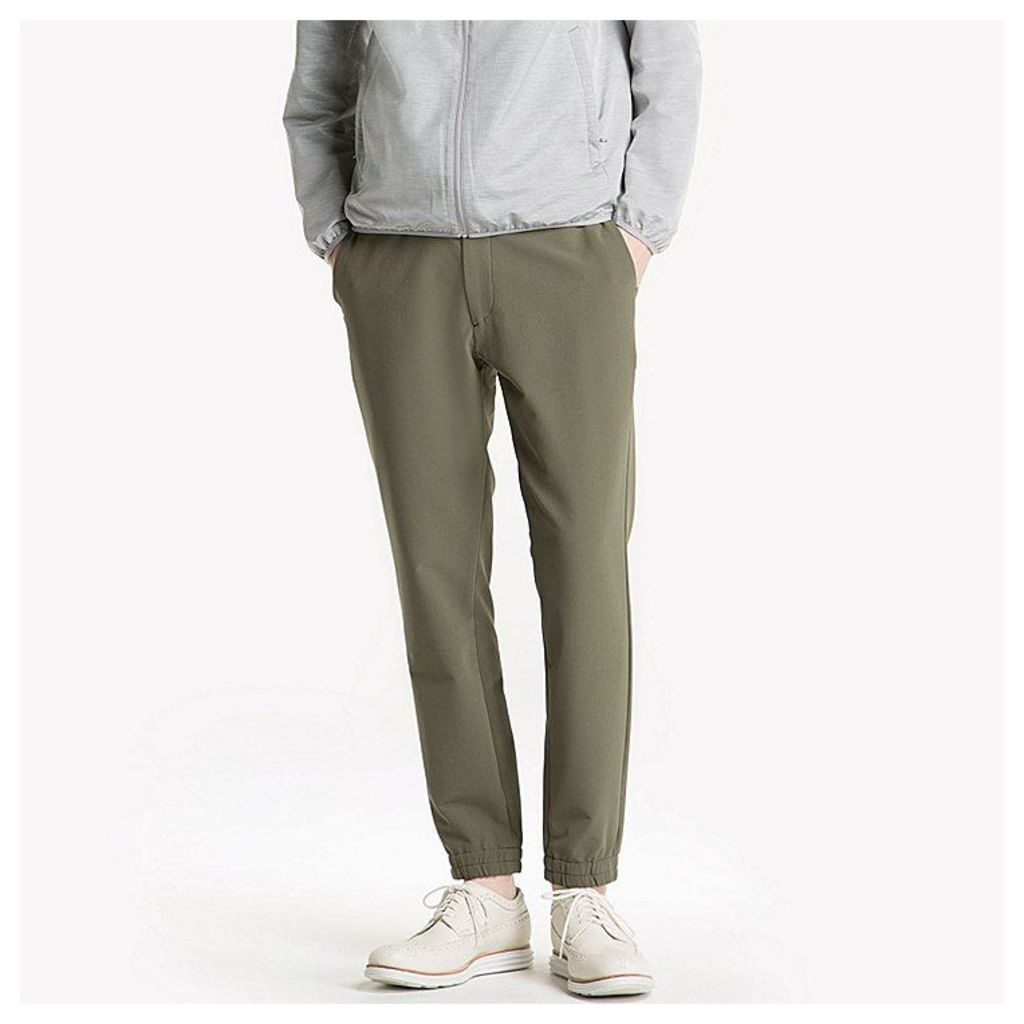 Uniqlo  Men Ultra Stretch Jogger Pants - Dark Green - S