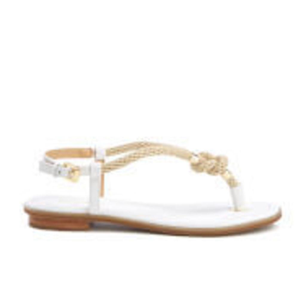MICHAEL MICHAEL KORS Women's Holly Rope Strap Sandals - Optic White - US 10/UK 8