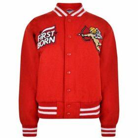 Ashley Williams Cherub Patch Varsity Jacket