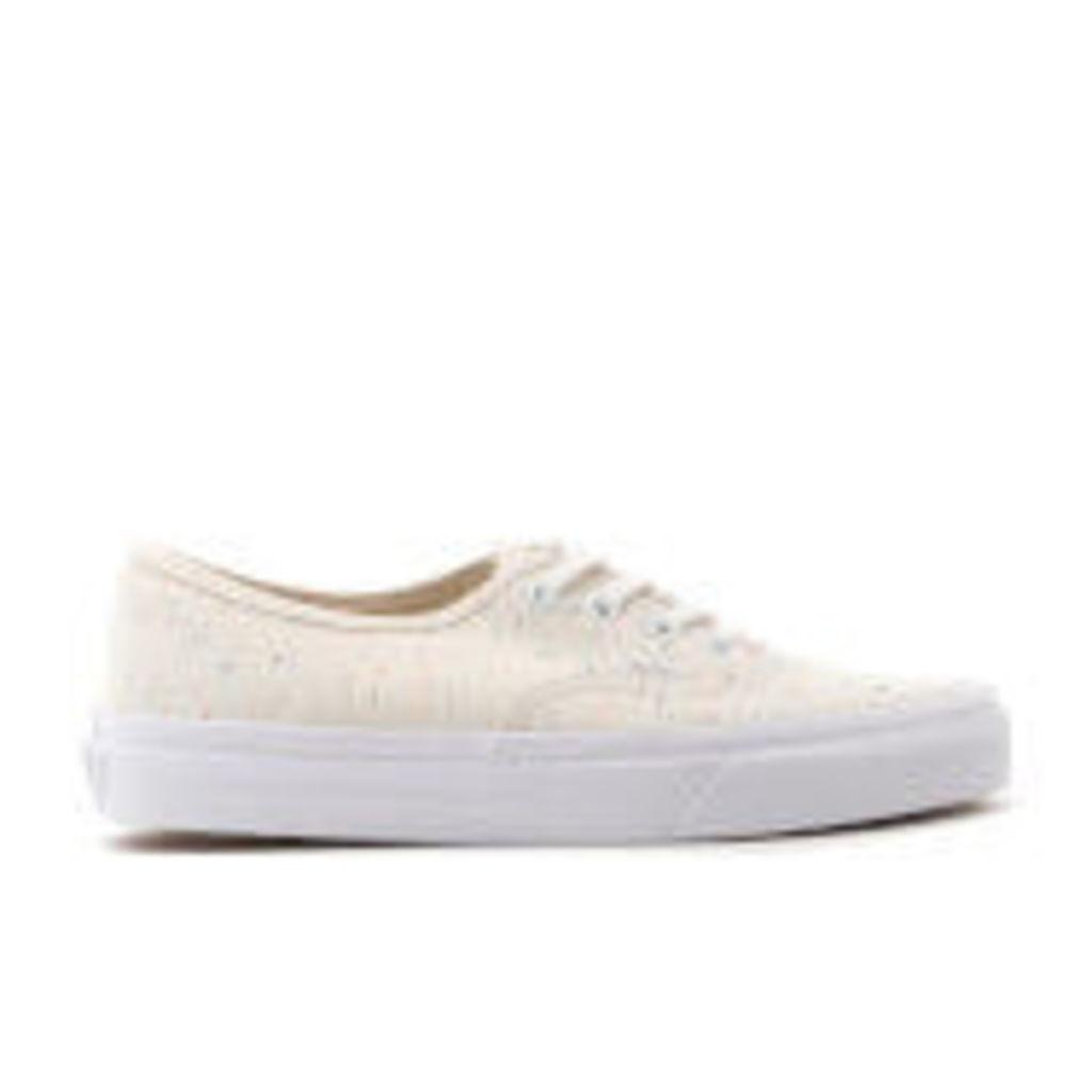 Vans Women's Authentic Jersey Trainers - Cream/True White
