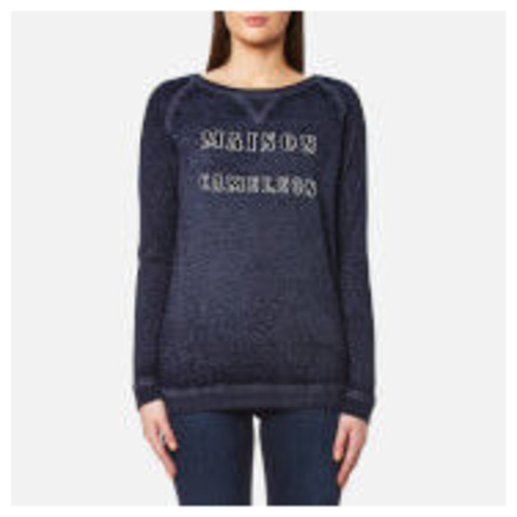 Maison Scotch Women's Burnout Sweatshirt - Grey