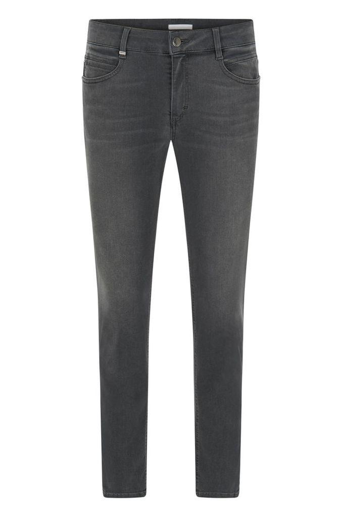 Regular-fit jeans in stretch denim