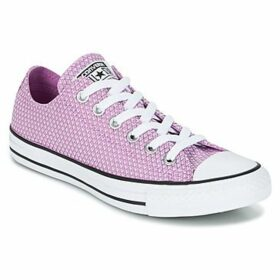 Converse  CHUCK TAYLOR ALL STAR - OX  women's Shoes (Trainers) in Pink